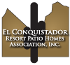 El Conquistador Patio Homes Association, Inc. Logo